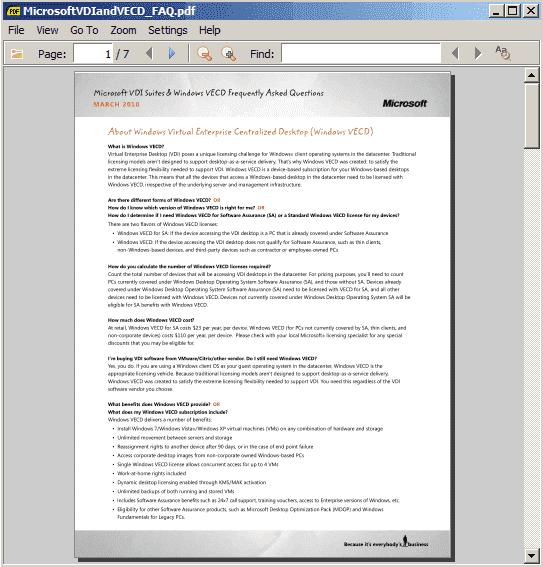 Free portable PDF reader – Sumatra PDF viewer – 4sysops