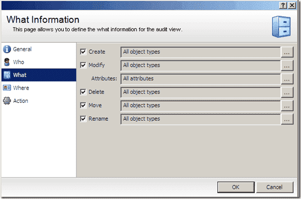 Active Directory Backup - Blackbird Auditor Realtime Policy