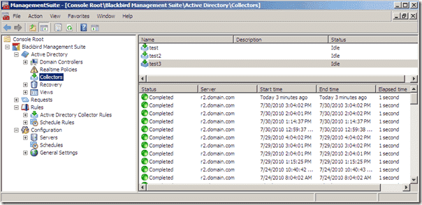 Active Directory Backup - Blackbird Recovery Collectors