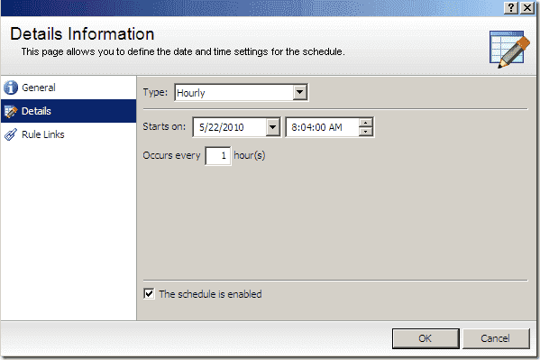 Active Directory Backup - Blackbird Recovery Schedules