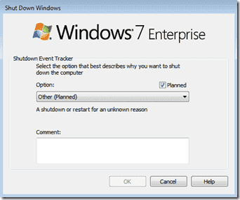 Stop Shutdown - Windows Shutdown Eventtracker