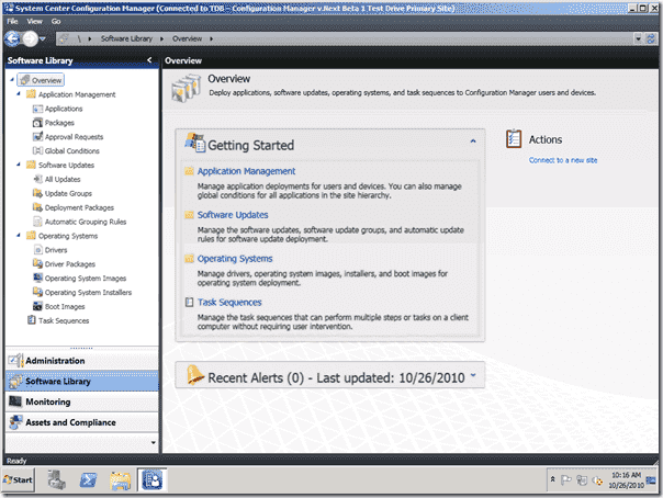System Center Configuration Manager - v.Next