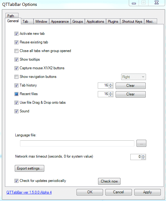 FREE: QTTabBar – Tabs for the Windows Explorer – 4sysops