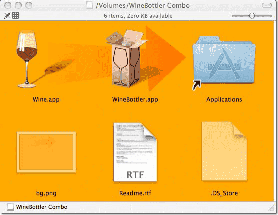 Internet Explorer for Mac OS X - WineBottler Combo