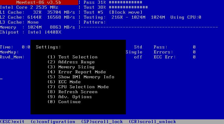 FREE: Memtest86 – A memory diagnostic tool – 4sysops