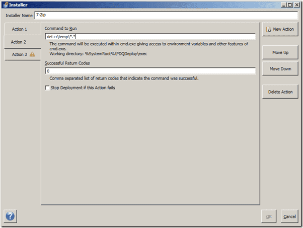 Windows software distribution - PDQ Deploy Pro - Command