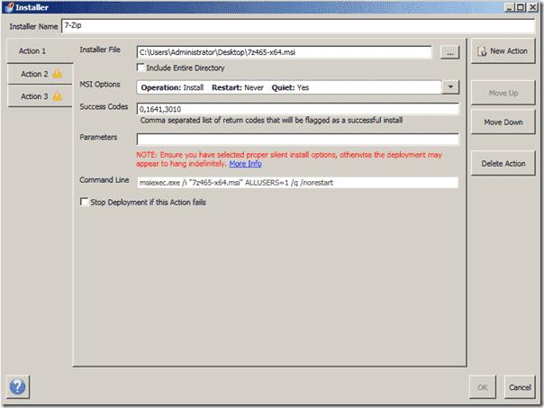 Windows software distribution - PDQ Deploy Pro - Installer