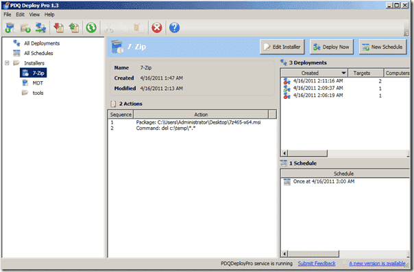 Pdq deploy pro windows software distribution part 1 for Windows distribution