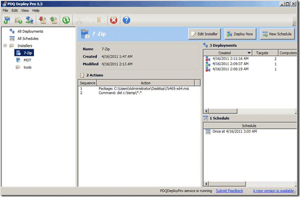 Windows software distribution - PDQ Deploy Pro