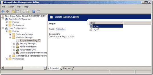 Group Policy Prefenrences - Internet Explorer 9 - Logon