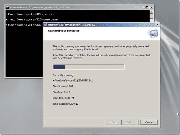 Offline.Antivirus.Windows.PE.3.0.Microsoft.Safety.Scanner