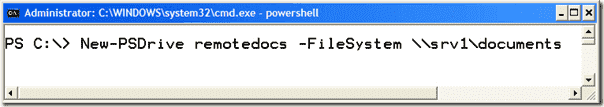PowerShell Tutorial - Drives