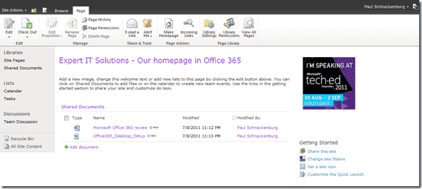 Office 365 - SharePoint Online
