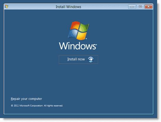 Install Windows 8 - Windows 8 Install 2