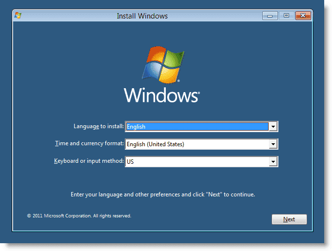 how to install windows 8 developer preview in virtualbox