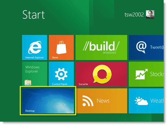 Install Windows 8 - Windows 8 Metro style UI
