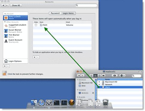 Mac login scripts in Active Directory - Adding a Login Item
