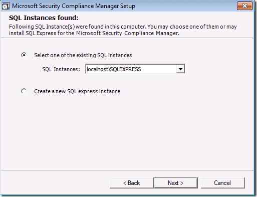 SCM_v2_SQL_Installation