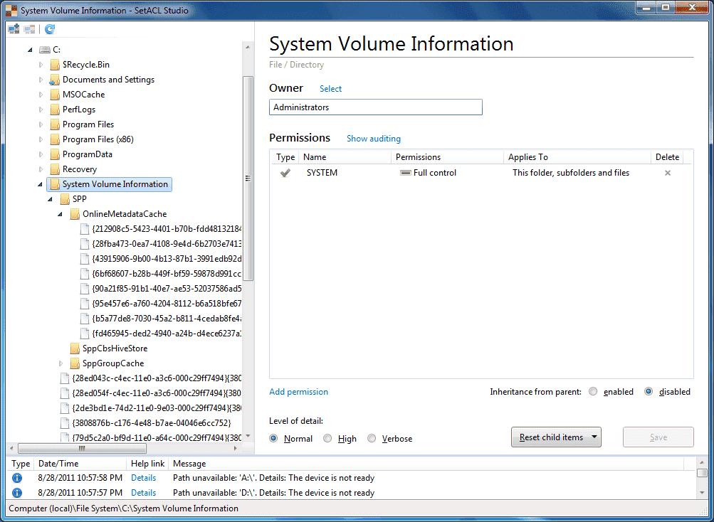 Raffle: SetACL Studio – Set Windows permissions – 4sysops