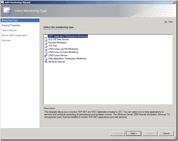 SCOM 2012 - NET Monitoring Configuration