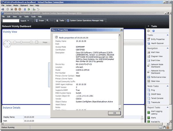 SCOM 2012 - Network Monitoring