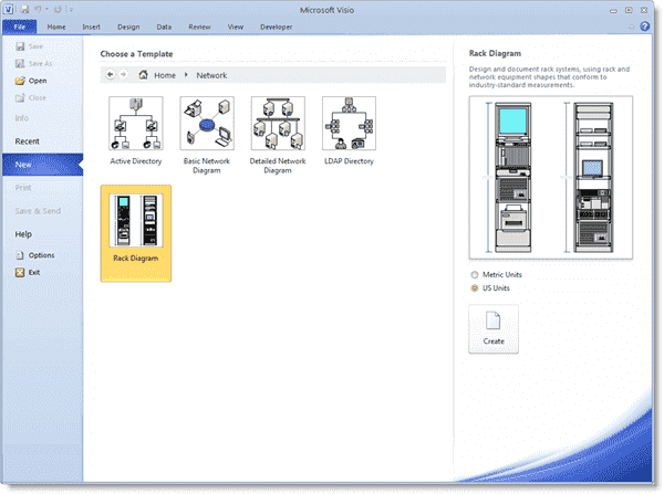 Visualizing Your Server Rack With Microsoft Visio 2010 4sysops