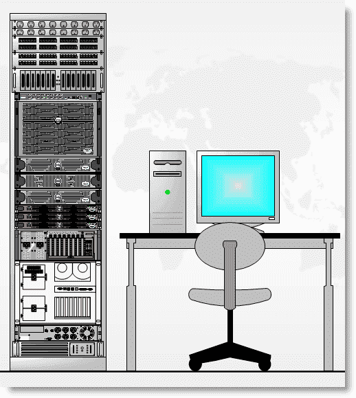 visualizing your server rack with microsoft visio   sysopsvisio server rack   the finished product