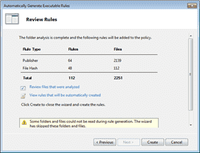 AppLocker - Review Rules