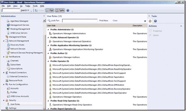 DPM 2012 - User Roles
