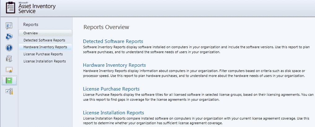microsoft desktop optimization pack mdop asset inventory service