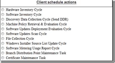 FREE: SCCM Client Actions Tool (SCCM CAT) – Manage
