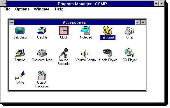 Disable Windows 8 Metro - Windows 3.1 program group