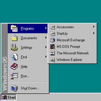 Disable Windows 8 Metro - Windows 95 Start menu
