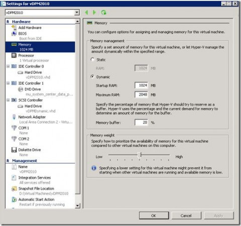 Hyper-V cluster - Part 3: Host server requirements