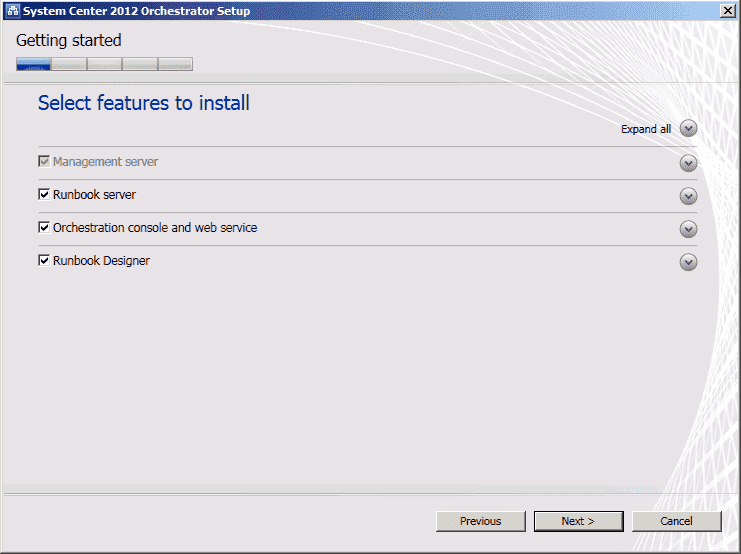 System Center 2012 – Orchestrator – Installation – 4sysops