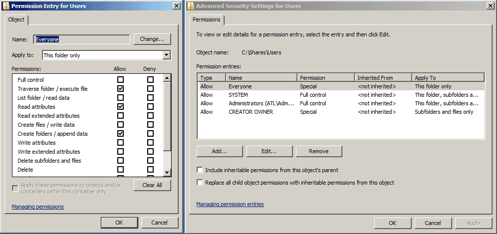 how to change owner of a file or folder