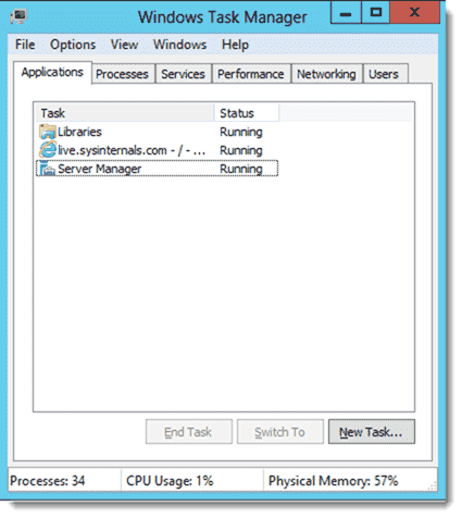 Legacy Task Manager