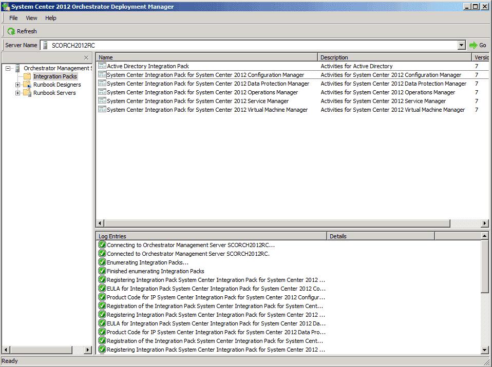 System Center 2012 – Orchestrator 2012 – Integration Packs – 4sysops