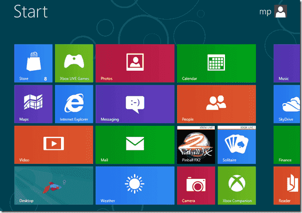 Windows 8 - Metro