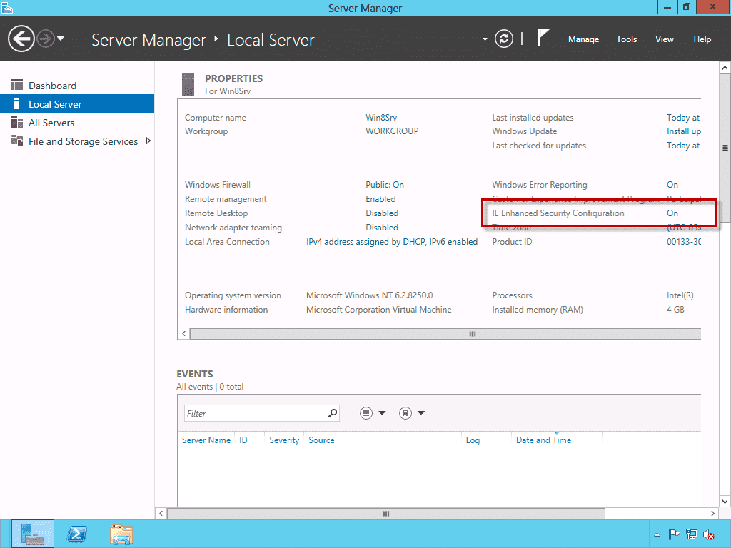 install internet explorer on windows server 2016