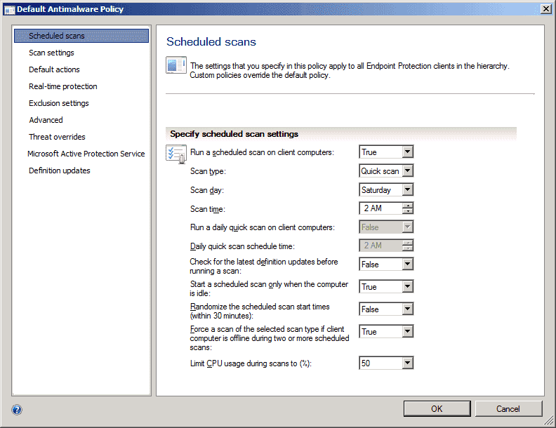 System Center 2012 Endpoint Protection Review – Part 1: Installation