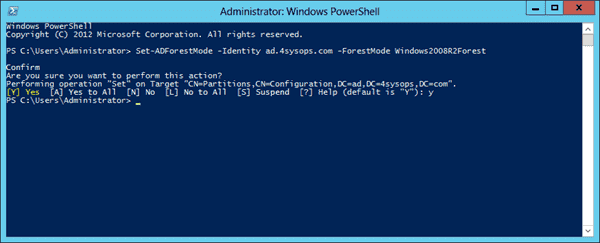 Windows Server 2012 Active Directory Recycle Bin - Forest Mode