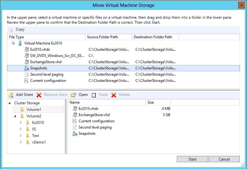 Windows Server 2012 Hyper V Part 3 Storage Migration