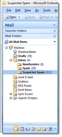GFI MailEssentials Outlook Inbox