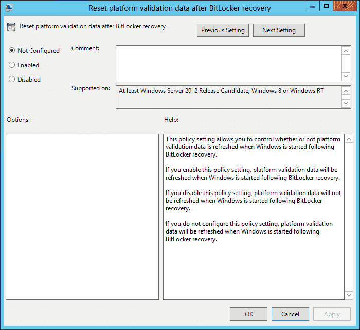 BitLocker Group Policy changes in Windows 8 – 4sysops