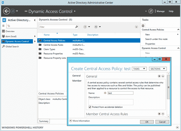 Windows Server 2012 - Dynamic Access Control