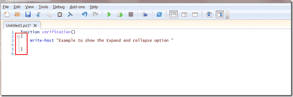 PowerShell 3.0 - Expand and collapse option