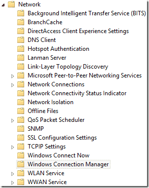Windows 8 Connection Manager