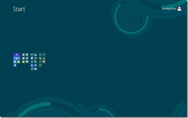 Windows 8 start screen zoom