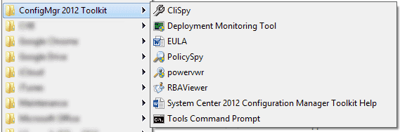 System Center Configuration Manager 2012 Toolkit
